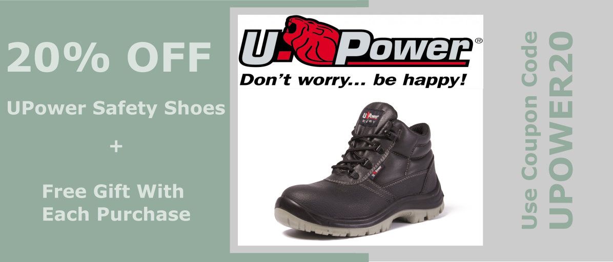 Upower Safety Shoes Promotion